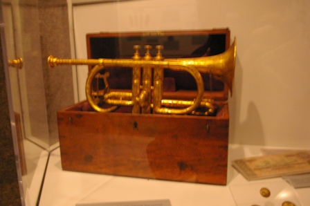 Civil War memorabilia for Joel Rock n' Roll ~ The best trumpeter in Austin, TX