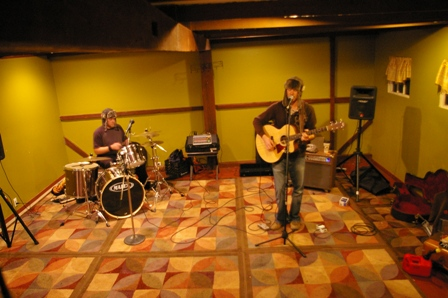 Rockin' out at Stir It Up Coffee in Mullica Hill, New Jersey