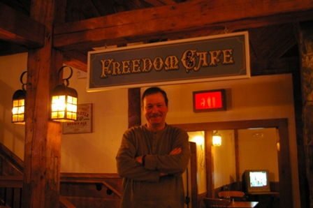 Darryl, owner of the Freedom Cafe & Pub ~ Naples, Maine