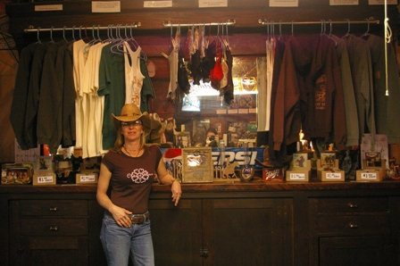 Natalie ~ owner of Cowgals Saloon