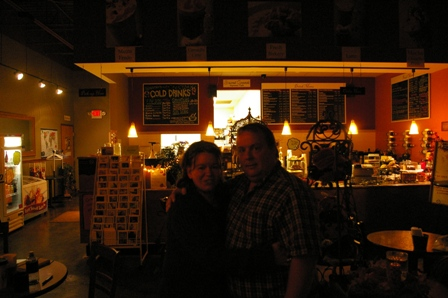 Susie & Max, owners of Sacred Grounds ~ Stacy, Minnesota