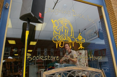 <b>The Laughing Duck Bookstore & Coffee House ~ Linesville, Pennsylvania</b>